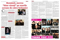 Picture of Interview with Ramona Mitrica for Gazeta de Romania newspaper